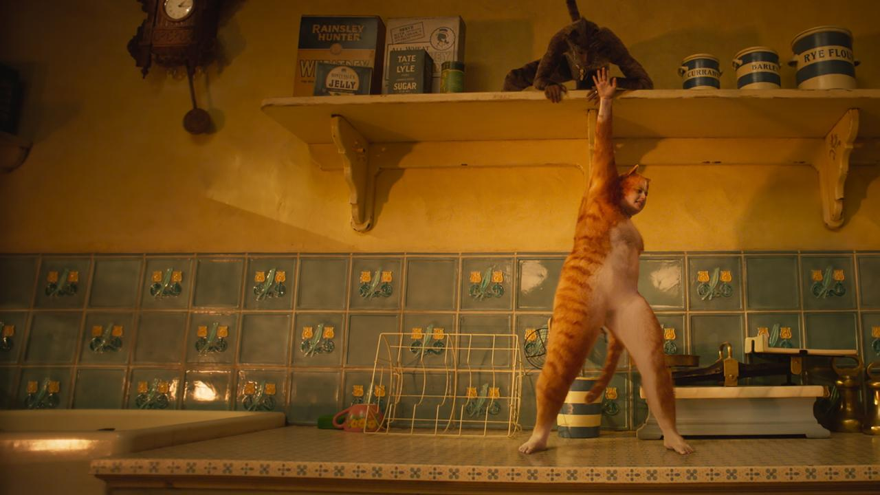 Rebel Wilson in a scene from the movie Cats. Picture: Universal Pictures