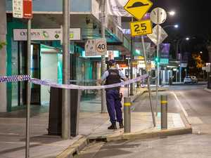 Man, 37, stabbed in neck from behind