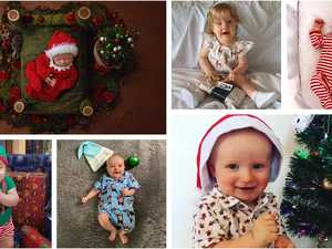 PHOTO GALLERY: Babies first Christmas