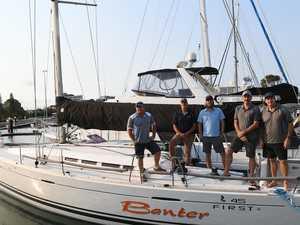 Coast sailors push hard in Sydney to Hobart race