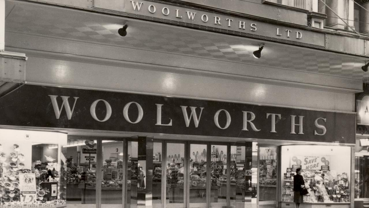Woolworths Her Majesty's Sydney store in 1953.
