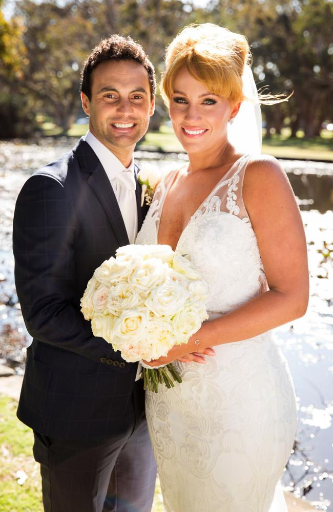 Cameron Merchant and Jules Robinson made it official after meeting on Nine's reality show, Married At First Sight.