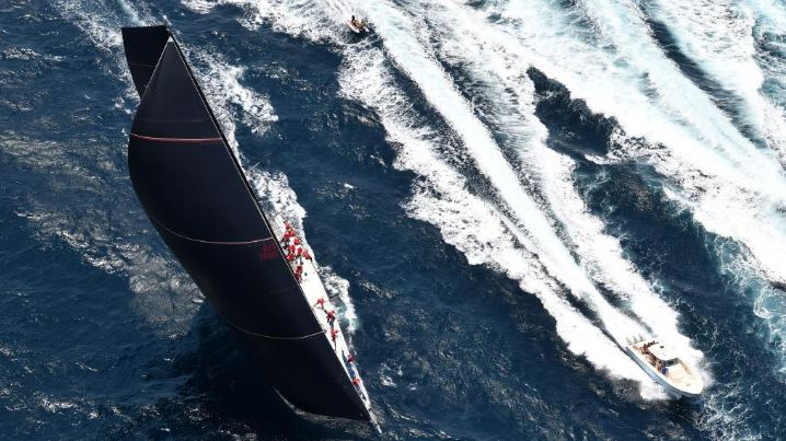 Wild Oats XI. Picture: Dean Lewins