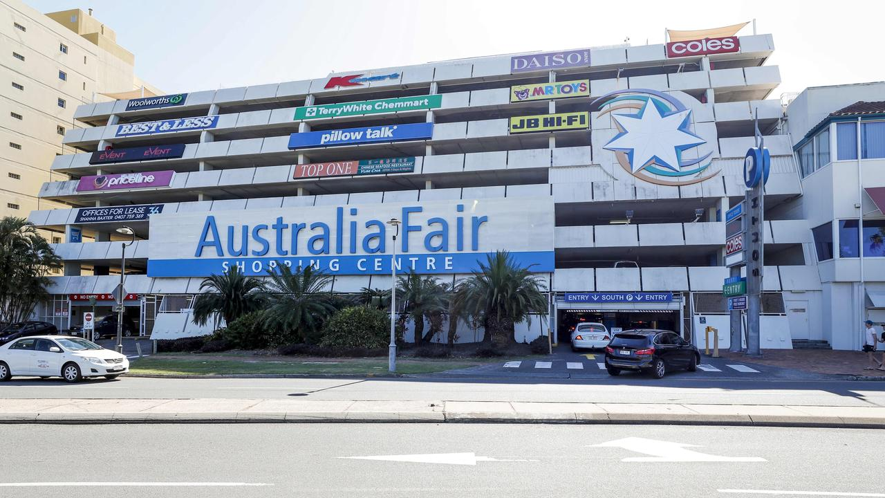 The incident happened at Australia Fair Shopping Centre. Photo: Tim Marsden