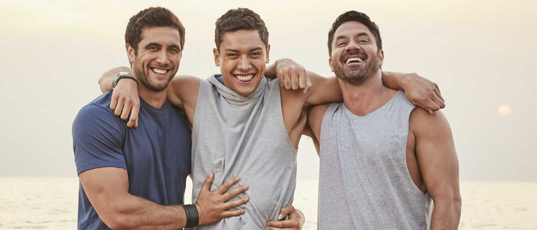 Stormin' the Bay … Ethan Browne, Kawakawa Fox-Reo and Rob Kipa-Williams will star on Seven's Home And Away in 2020.