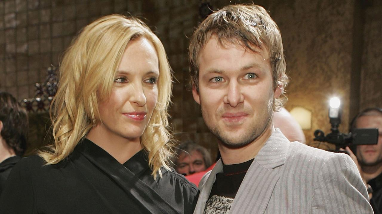 Toni Collette and husband Dave Galafassi have been married for 16 years. Picture: Kristian Dowling/Getty Images