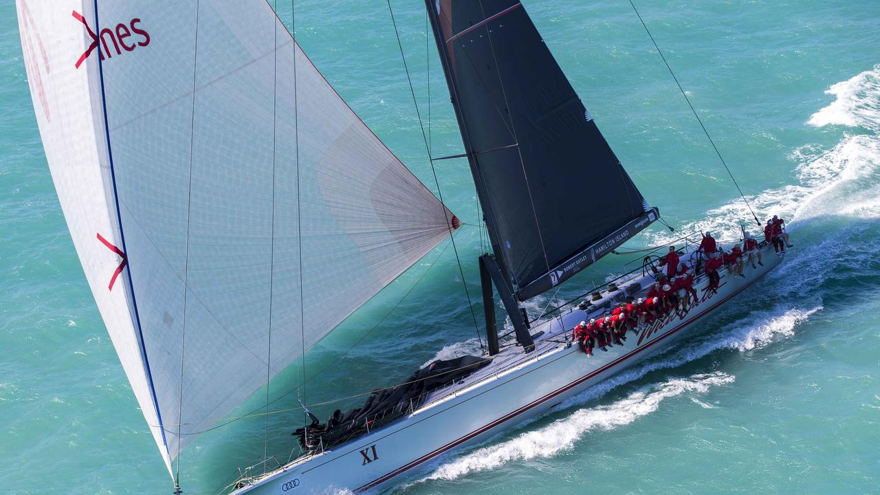 Wild Oats XI took out third place line honours in the 75th Sydney to Hobart race. Image: Andrea Francolini