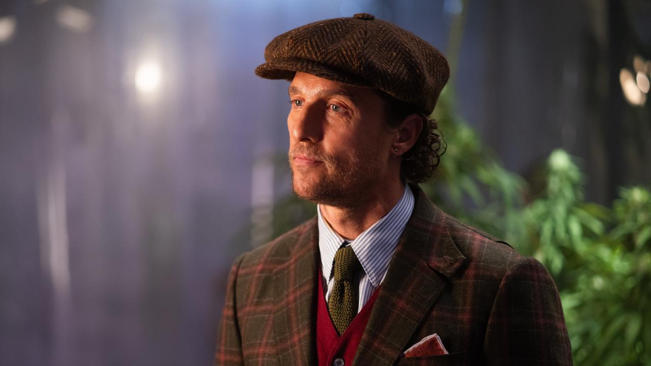 Matthew McConaughey in a scene from Guy Ritchie's The Gentlemen.