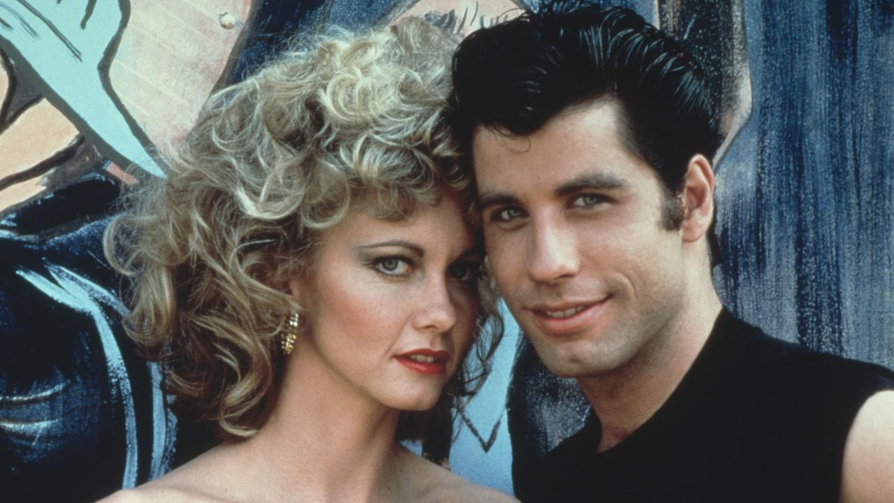 Olivia Newton-John and John Travolta in 'Grease'.