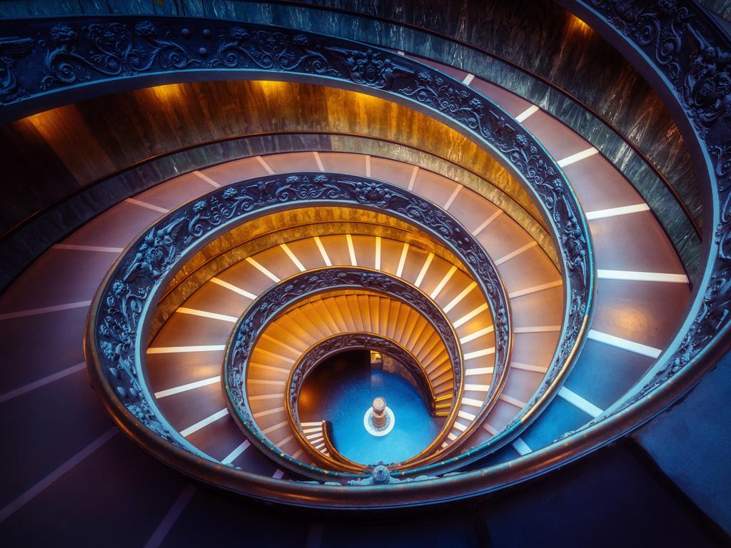 Bramante Staircase in Vatican Museums in Vatican City. Picture: iStock