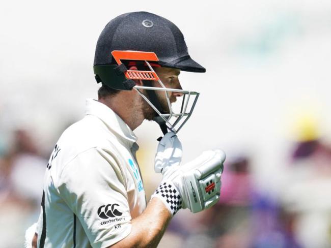 New Zealand skipper Kane Williamson has endured a horror Test at the MCG.