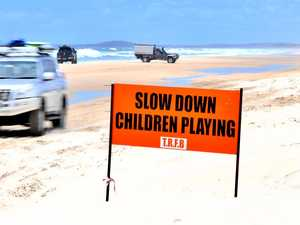 Mum's plea for drivers to stop 'flying' down beach