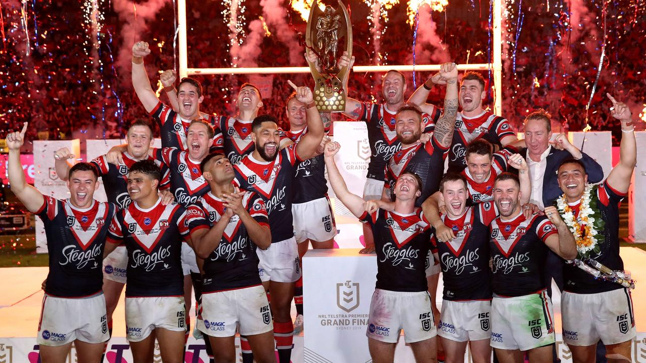 Can anyone stop the Roosters in 2020? Picture: Phil Hillyard