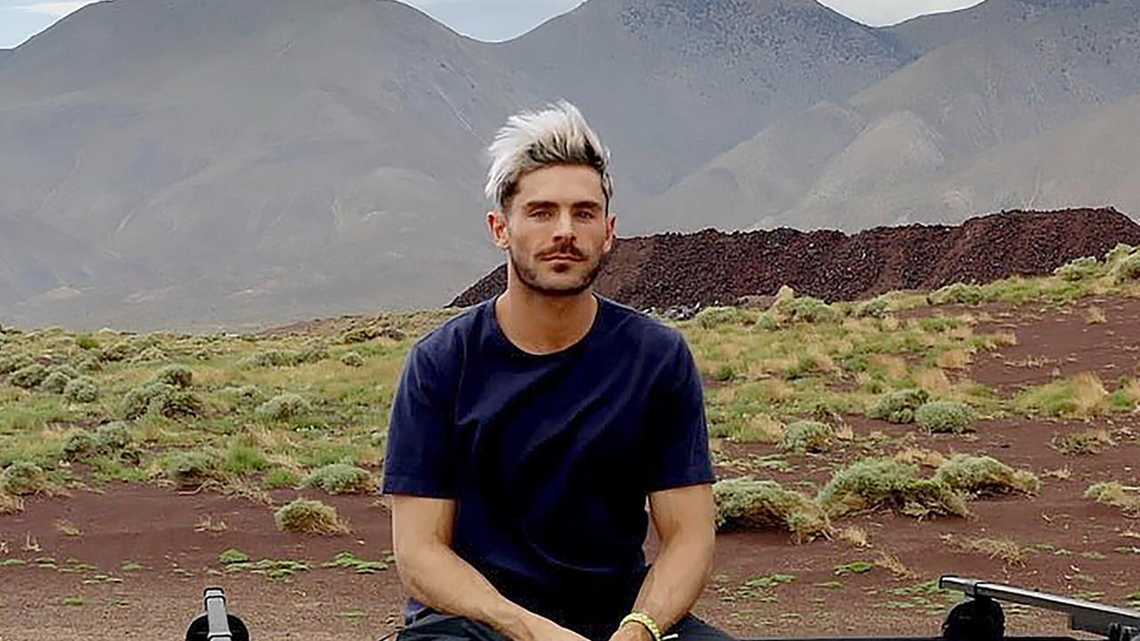 Zac Efron as seen in Instagram posts. Picture: Instagram