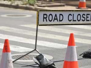 The roads to be closed on New Year's Eve