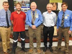 Rotary presents cheques to vital Rocky services