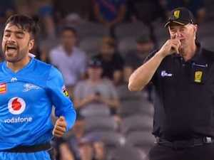 Umpire on the nose after 'all-time' troll