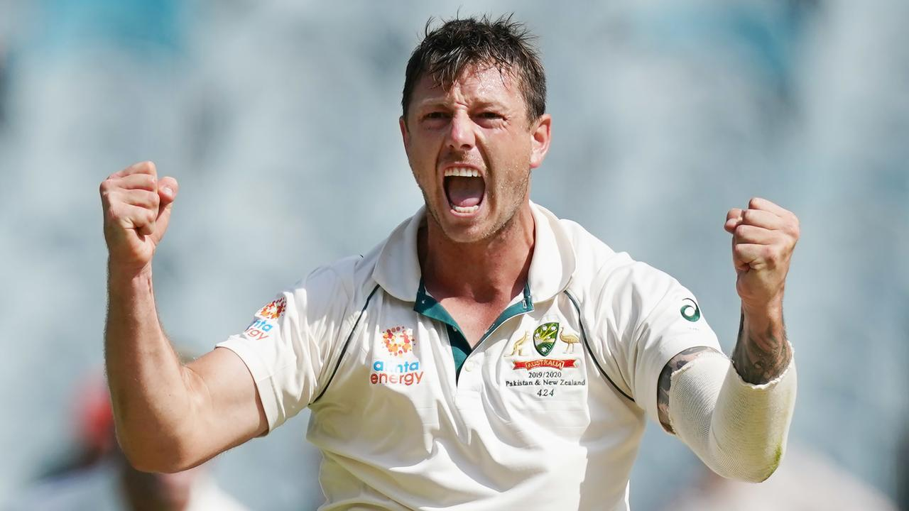 James Pattinson gives Australia's attack a menacing edge. Picture: AAP