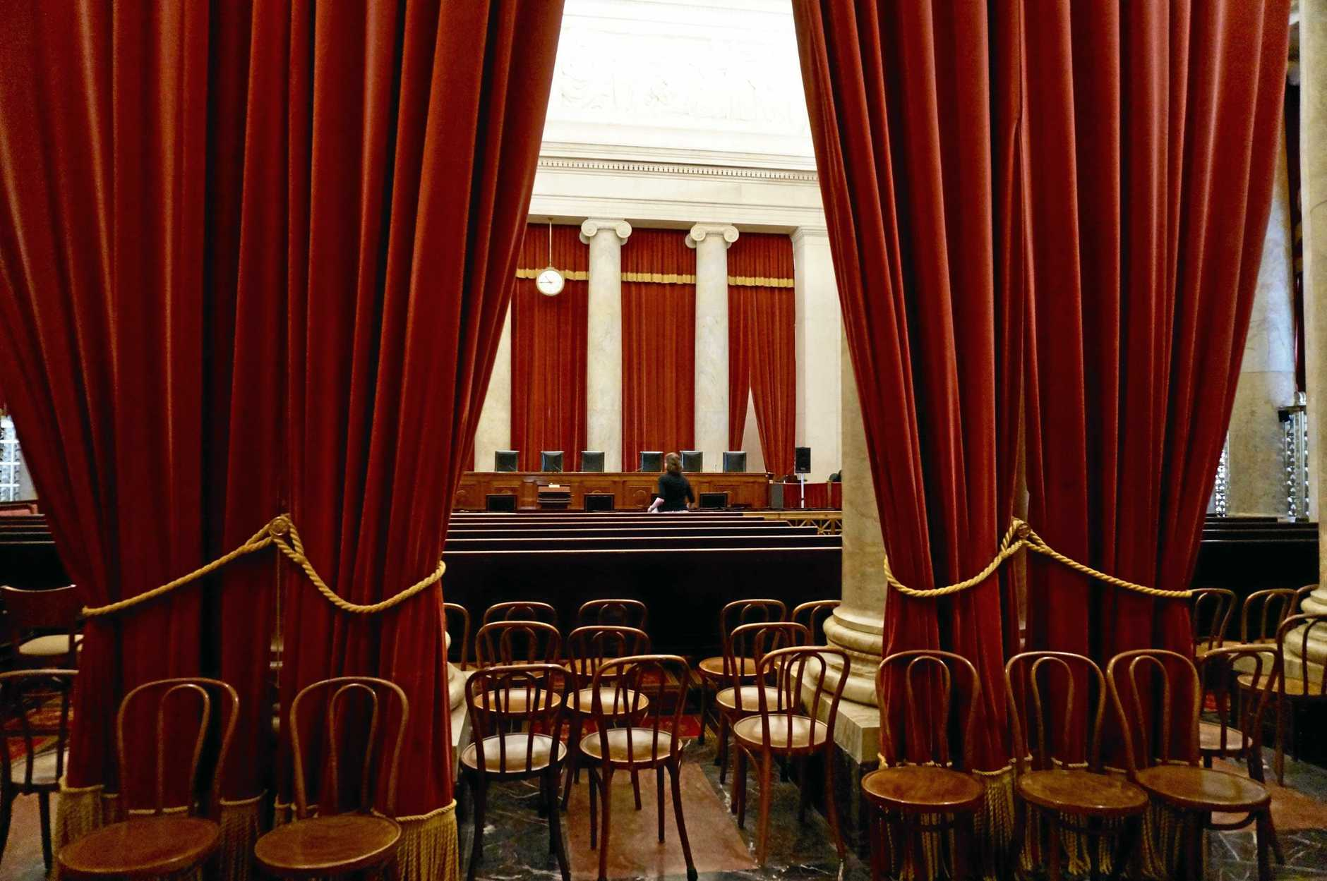 Washington DC is steeped in United States history. This is the Supreme Court which is open to the public.