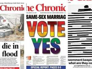 LOOK BACK: The Chronicle front pages from the past decade