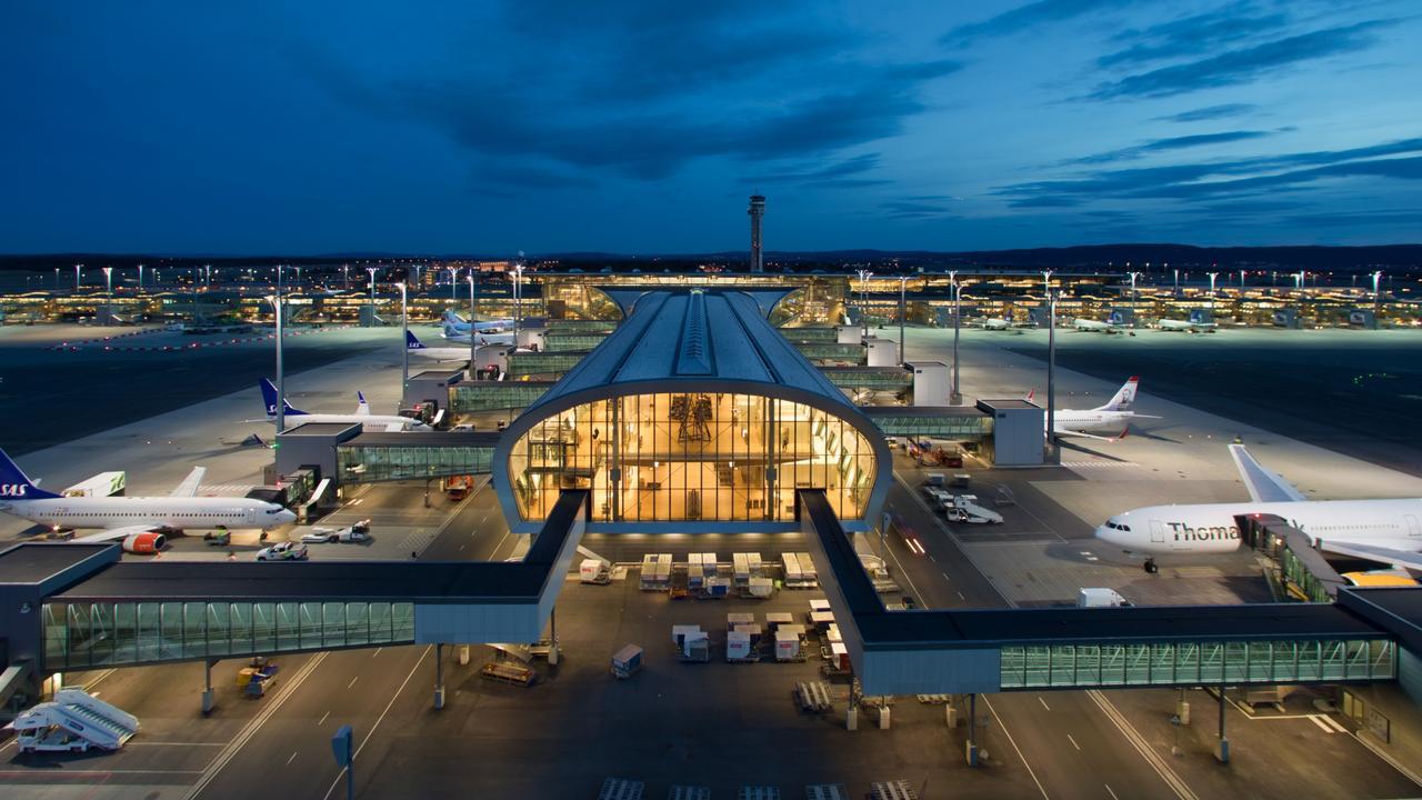 Seriously impressive: Oslo Airport. Picture: Avinor Oslo lufthavn/Espen Solli