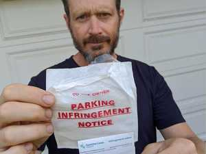 Pain in the grass: 13 parkers stung $667 in one council hit