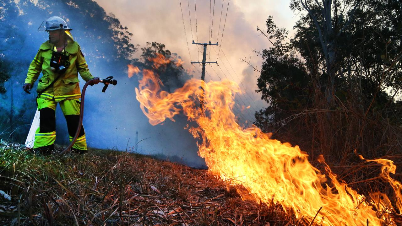 'We must respect our exhausted RFS volunteers,' said John Barilaro.