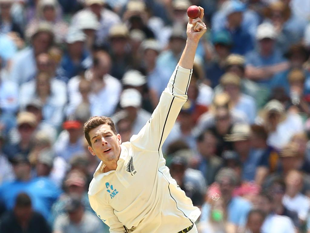 Mitch Santner has struggled to have an impact this series, claiming one wicket in two matches.