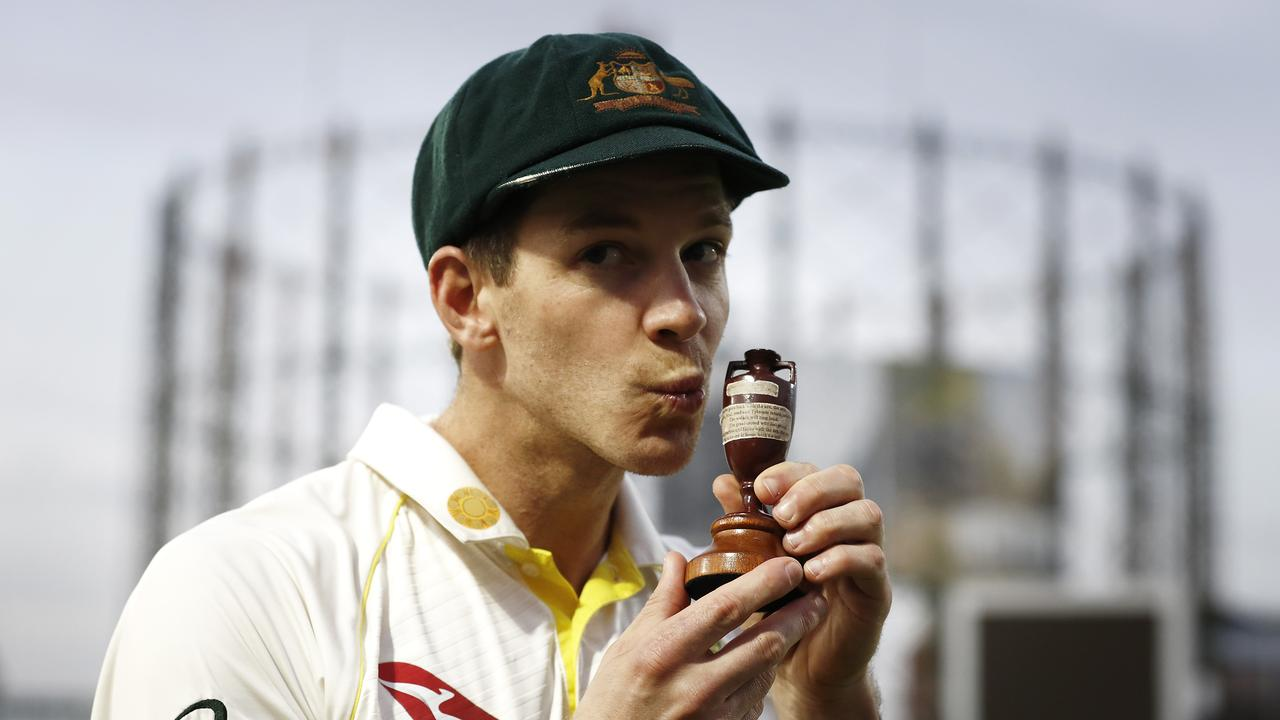 Tim Paine says the recent Ashes series is the perfect example of why the game must retain traditional Tests. Picture: Ryan Pierse/Getty