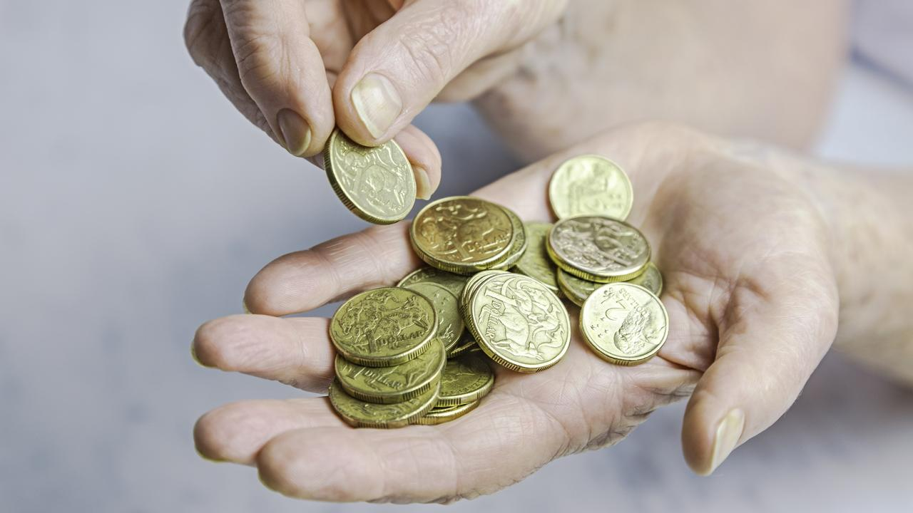 The woman planned to pay her bill entirely in coins. Picture: iStock