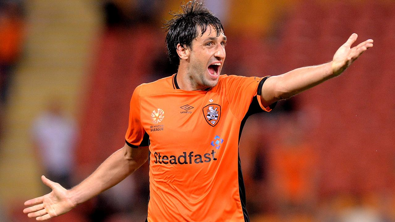 Thomas Broich was integral to Brisbane Roar's success. Picture: Getty Images