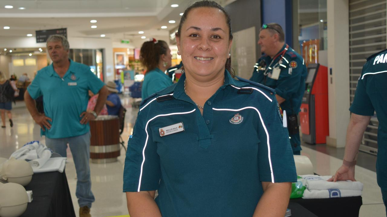 New Kingaroy Ambulance Station officer-in-charge Mei-lin Dean is committed to helping people. (Photo: Jessica McGrath)