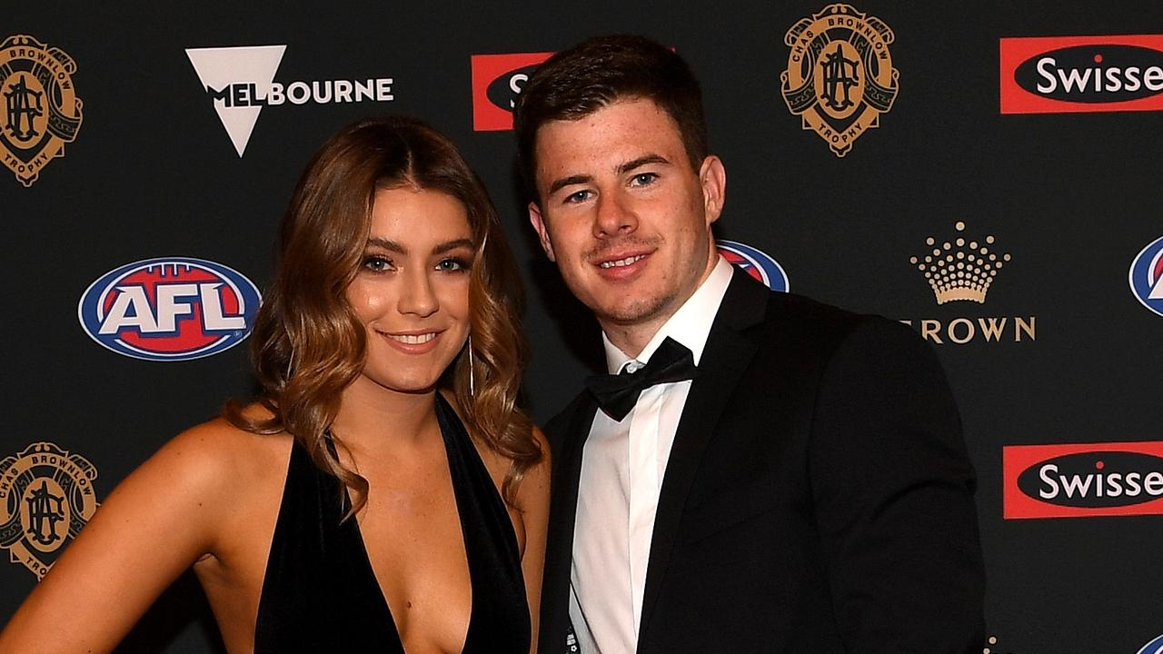 """Tenisha Crook has made a desperate plea to the footy community after being inundated with abuse after a """"rubbish"""" rumour."""