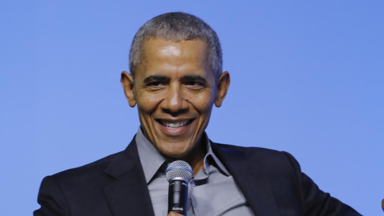 Former US president Barack Obama. Picture: AP Photo/Vincent Thian
