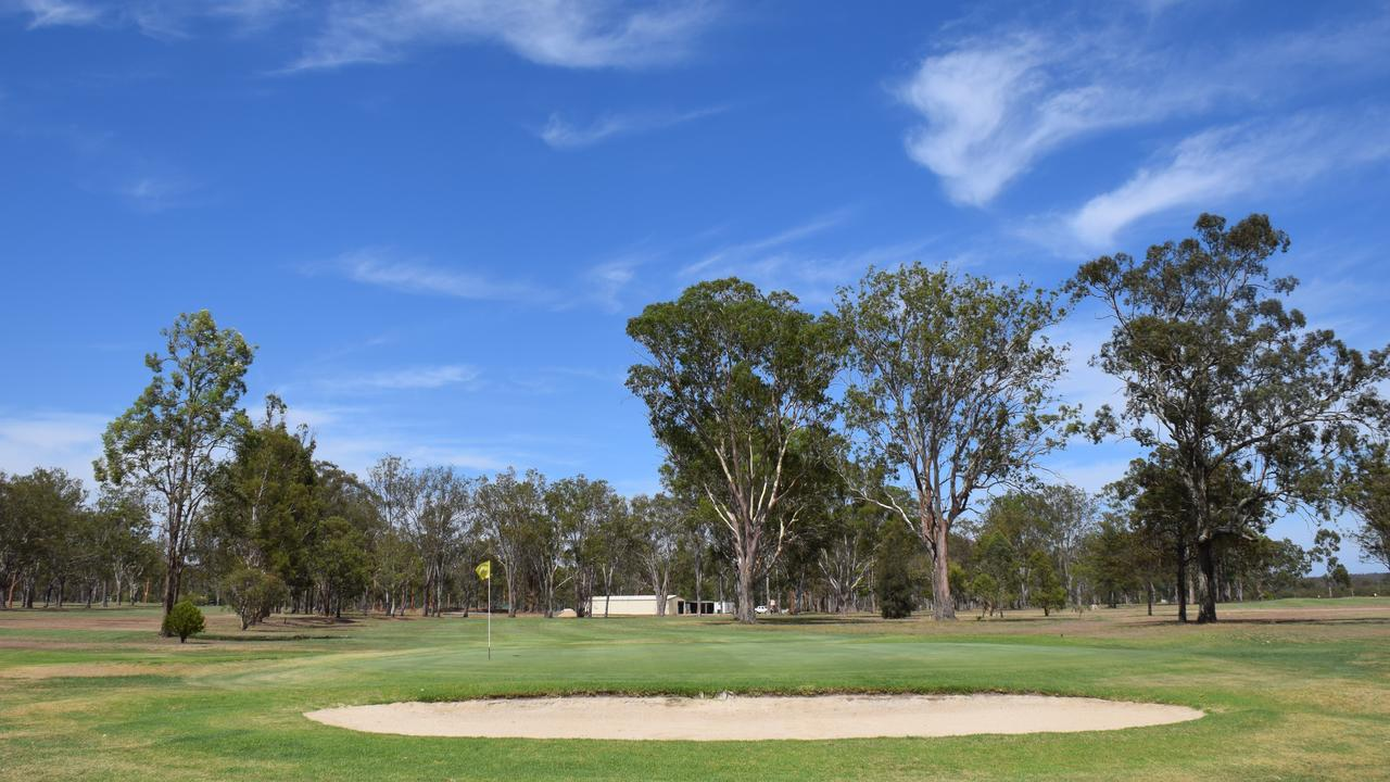 Kingaroy golf course showing no signs of drought (PHOTO: Tristan Evert)