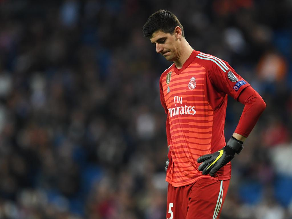 Thibaut Courtois currently represents Real Madrid in La Liga.