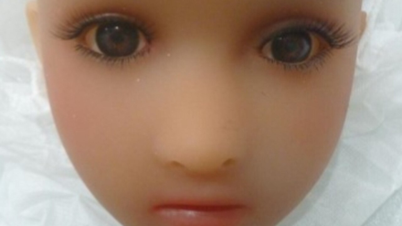 Border Force has released a photo of one of the child-like sex dolls confiscated before it reached a suspected paedophile trying to smuggle it in.