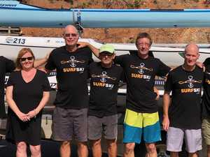 TRIBUTE: Paddlers take 'one last trip' with their good mate