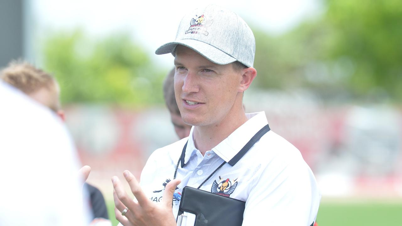 Magpies Crusaders United coach Thomas Ballantyne was astonished after a wild welcome to North Queensland.