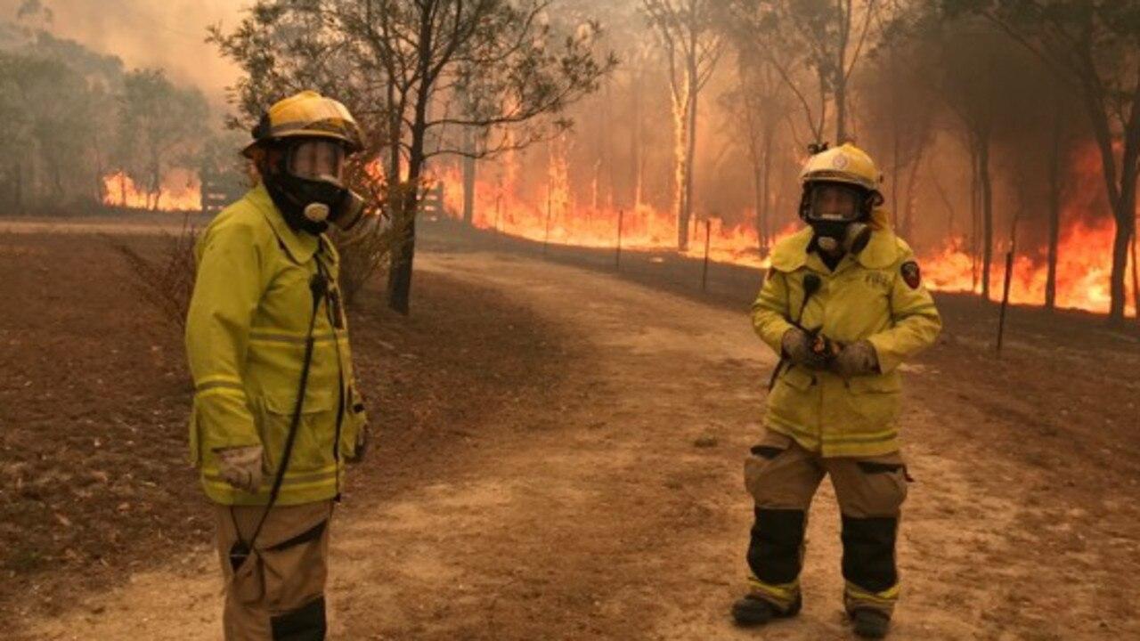 Fire crews have been battling terrible bushfires in Queensland for months.