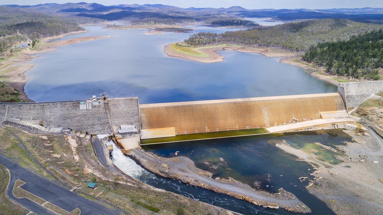NOW: Paradise Dam in 2019. Photo: John Wilson