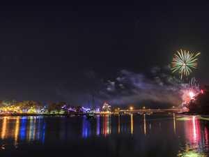 Rockhampton NYE fireworks