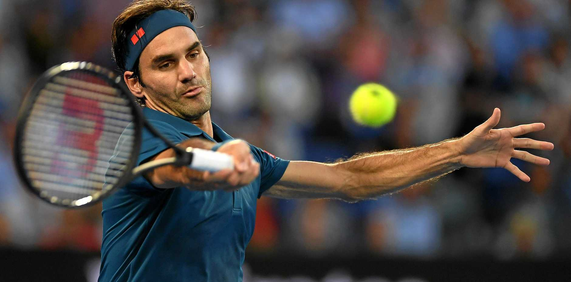 Roger Federer is still going strong at age 38, but for how much longer? Picture: Lukas Coch/AAP
