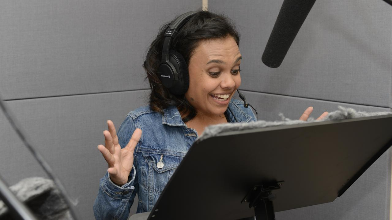 Miranda Tapsell voices Little J in the TV series Little J & Big Cuz. Supplied by SBS-TV.