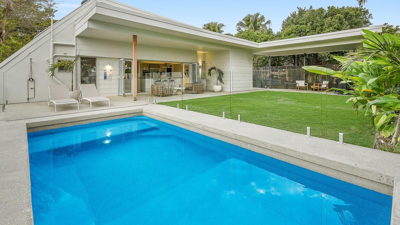 This home at 24 Emperor Ave sold in May for $686,000, an increase of 12.64 per cent for the street in western Maroochydore well back from the beach.