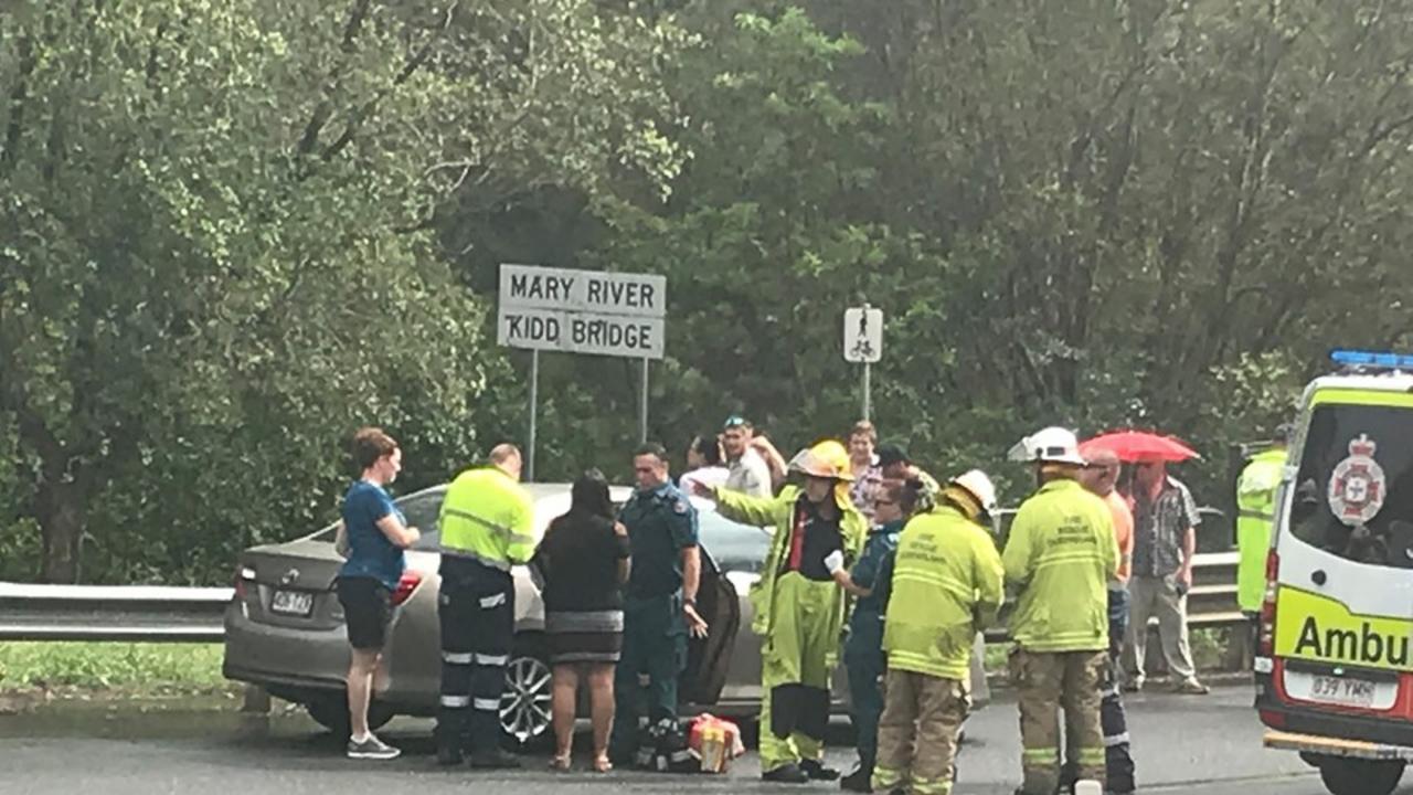 Crash at Kidd Bridge