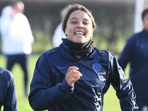 Kerr-boom! Matildas star ready to light up England