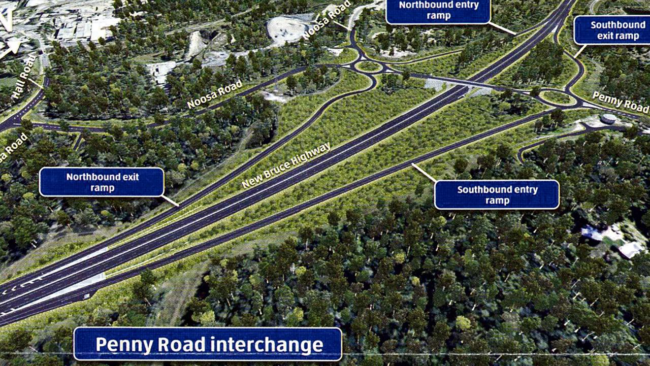 Bruce Highway Upgrade Cooroy to Curra - Penny Road interchange