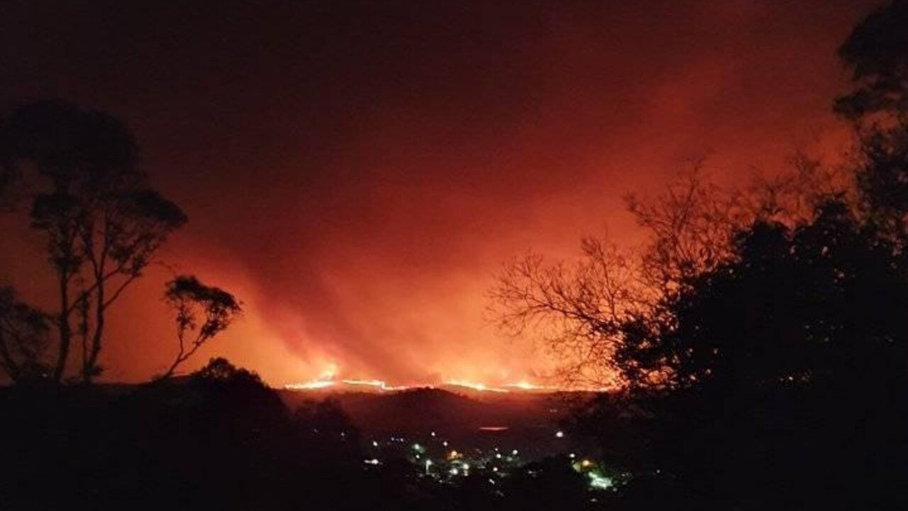 Former Morning Bulletin deputy editor Christine McKee is currently in the thick of the Victoria bushfires which are surrounding her home of Corryong.
