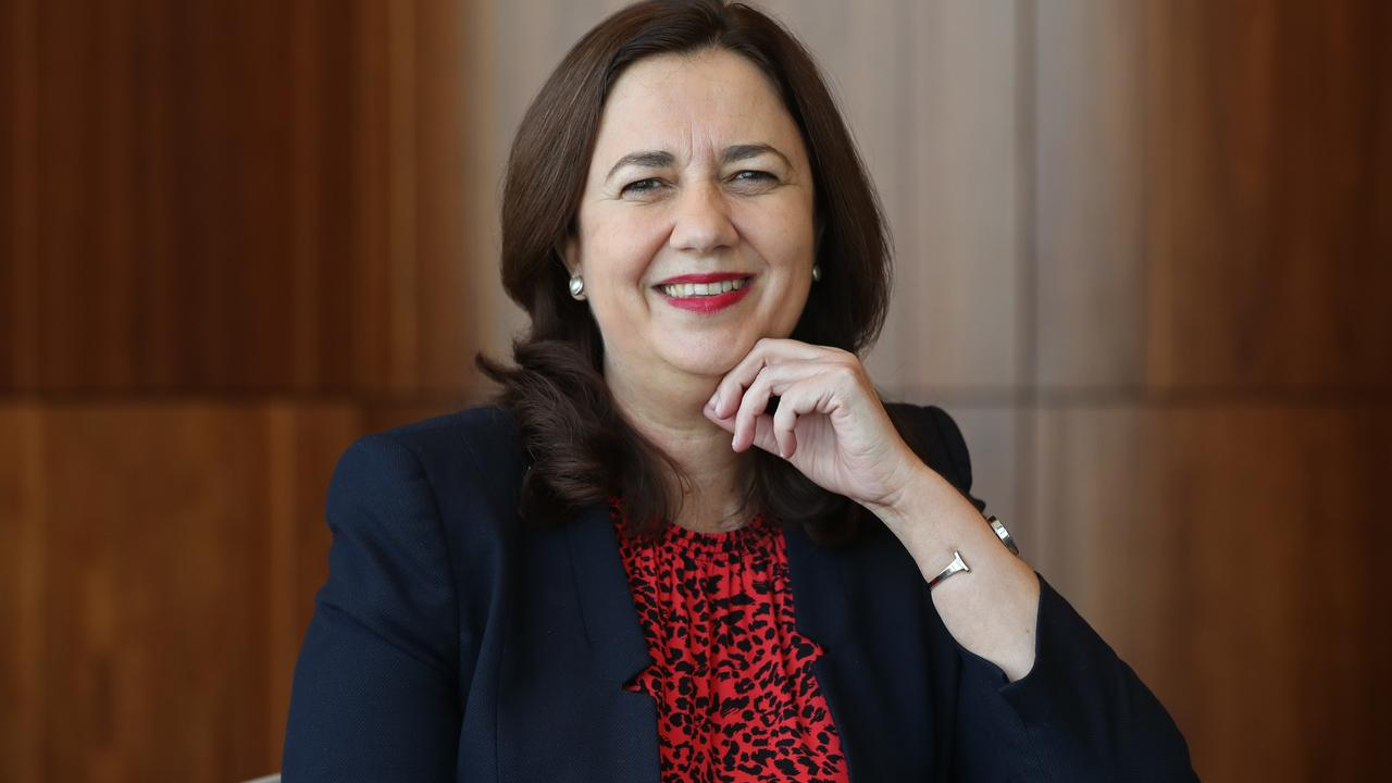 "Political public relations expert Paul Williams asks ""in what universe is Palaszczuk, the unpolished and plain-speaking girl from Inala, anything other than down to earth and ordinary?"". Picture: Lyndon Mechielsen"